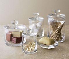 Retro vintage  Bathroom   Retro Glass Accessories - Bathroom decorating ideas