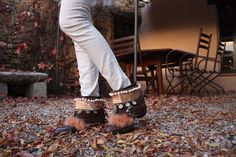 Tribal Chic Layer / boho boots / Layerboots / bohemian style / Embroidery / jewelry / Banjhara / Tribal / Soft / India / Gypsy / Chic