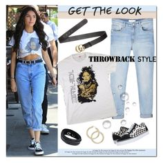 """""""Get The Look"""" by sharoncrotty ❤ liked on Polyvore featuring Vans, MANGO, Gucci and Swarovski"""
