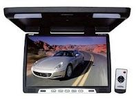 Pyle PLVWR1752 17-Inch Wide-Screen TFT LCD Roof Mount Video Monitor with IR Transmitter