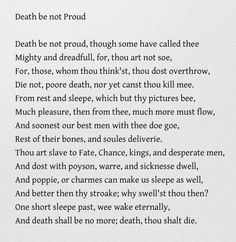 death be not proud john gunther essay