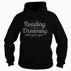 Reading is Dreaming - LIMITED RUN, Order HERE ==> https://www.sunfrog.com/Hobby/Reading-is-Dreaming--LIMITED-RUN-Black-Hoodie.html?41088