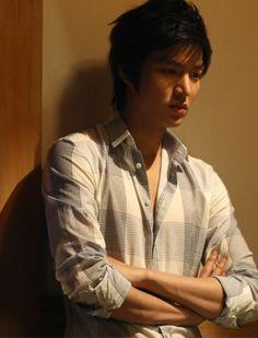 dress shirt. Lee Minho