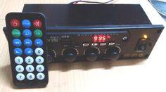 Jual beli Rakitan USB MP3 FM Tape Mobil Amplifier Stereo di Lapak Mbish Bangun Indonesia - mbish_elektronik. Menjual Power Amplifier - >Rakitan USB MP3 FM Tape Mobil Amplifier Stereo >catu daya DC 12V 2A-3A / aki mobil DC12V Speaker Output RMS 2 x 40W 4 ohm - 8 ohm / PMPO 200W >support Flashdisk  usb dan mmc memory card dan Play format MP3  >dilengkapi AUX input dan audio Output untuk cabang amplifier tambahan / amplifier Subwoofer > Built in FM stereo Receiver  ...