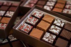 Georgia Events for Chocolate Lovers  A selection of chocolates from Lulu's Chocolate Bar, Savannah #GeorgiaEats #ExploreGeorgia