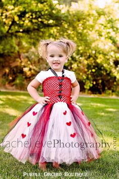 Queen of Hearts Inspired Tutu Dress by PurpleOrchidBoutique, $29.99