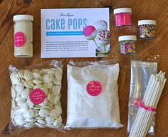 Sweet Lauren Cake Pop Kits | Flickr - Photo Sharing! Talk about the perfect present! Sweet Lauren Cakes DIY cake pop kit! Make your own cake pops at home with all of our own ingredients! They'll be amazing! Great Christmas day activity to spend with your kids! #christmas #holiday #diykit Check out everything that comes in our kit!