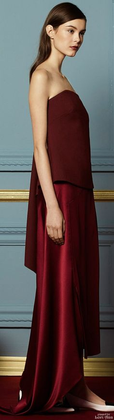 Glamour gowns / karen cox.  Hellessy Fall 2015 RTW
