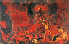 """""""El Infierno"""" por el padre Hernando de la Cruz en 1620. (Siglo XVII)"""