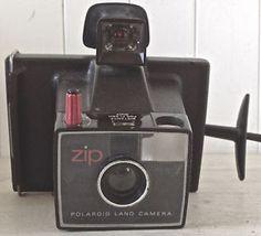 Vintage 1970. Collection. POLAROID LAND CAMERA ZIP
