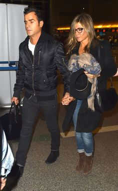 Ready for Take Off from Jennifer Aniston & Justin Theroux: Romance Rewind | E! Online