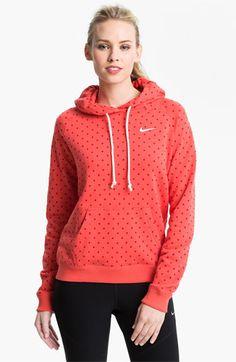 $55 Nike 'Rally' Dot Print Hoodie | Nordstrom