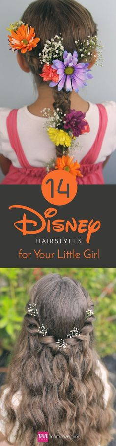 14 Disney Hairstyles for Your Little Girl to Channel Her Inner Princess: raisingdisneyaddicts.com