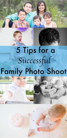 Successful Family Photo Tips