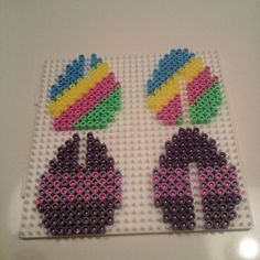 Easter eggs hama beads by  delapixelart