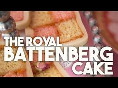 Battenberg - This recipe has been on my bucket list for a long long time. My love affair with the Battenberg started on a trip to London when I was 18 years . Royal Cakes, Marzipan, Flourless Chocolate Cookies, Nutella French Toast, Cake Youtube, Sponge Cake, British Royals, Almond, Cheesecake