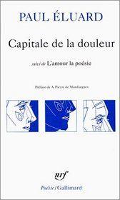 Capitale de la Douleur, by Paul Eluard