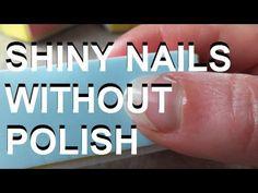 ▶ Nice Shiny Nails Without Polish - Friday Finds - YouTube