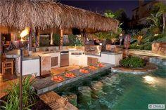 Swim up bar! Kerrigan Ranch, Yorba Linda. #orangecounty