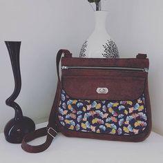 Zy sur Instagram: Voilà le dernier tombé de ma mac, j'ai enfin terminé ce #Polka de #sacotin J'ai ajouté un peu de passepoil pour une jolie finition Les…