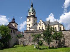 Mestský hrad Kremnica Big Country, Czech Republic, Homeland, Hungary, Mansions, House Styles, Castles, Group, History