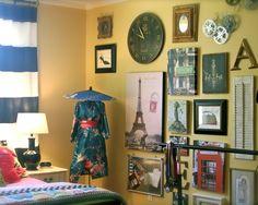 Travel Decor, ideas for Cort's bedroom