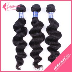 Find More Hair Weaves Information about Grade 6A 3 Bundles Addbeauty Brazilian Loose Wave, Unprocessed Brazilian Virgin Loose Wave 100g/Bundle, 3pcs/Lot Loose Wave Hair,High Quality hair roller,China hair extension body wave Suppliers, Cheap hair products thick hair from Guangzhou queen hair products co., LTD on Aliexpress.com