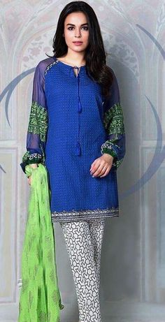 62e8bb8a05 Maria B Lawn, Pakistani Street Style, Pakistani Designers, Pakistani Dresses,  Simple Dresses
