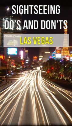 Great tips for your first time to Vegas!