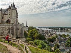 | ♕ | Château de Saumur - Loire Valley, France | by © PacoQT