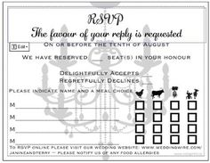 Sit down plated dinner RSVP cards...can you post some pics of yours? | Weddings, Etiquette and Advice | Wedding Forums | WeddingWire
