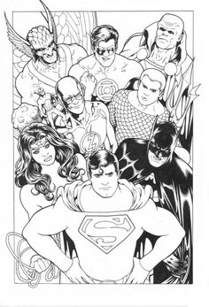 Classic Justice League by Kevin Maguire
