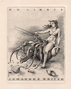 """One of many ex-libris nudes widely held to be in poor taste.It's time. I must bring to your attention the least essential controversy of 114 years ago: nude bookplates.Yes, everyone loves a good ex libris, and time was when no serious reader would be without one—but you couldn't just go slapping any old thing on... <a href=""""http://www.theparisreview.org/blog/2016/04/15/nude-bookplates-should-they-exist/"""">Read More</a> <span class=""""link"""">»</span>"""