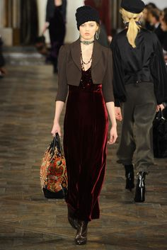 Ralph Lauren RTW Fall 2013 - Slideshow - Runway, Fashion Week, Reviews and Slideshows - WWD.com