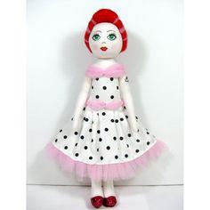 $125.00 Billie OOAK Rockerbilly doll by JacspratCreations on Handmade Australia