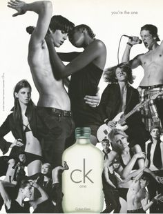 Calvin Klein Principle model Vinny Michaud from the Calvin Klein CK One fragrance Campaign. Directed by Fabien Baron,  Photographed by David Sims & Styled By Karl Templer. Vincent Michaud Calvin Kein CK one.