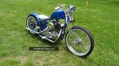 harley ironhead | 1973 Harley Davidson Ironhead Sportster Bobber Chopper Metalflake ...