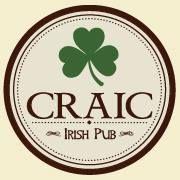 Craic Irish Pub.  Pub · Restaurante · Bar