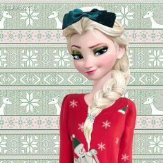 Elsa at Christmas