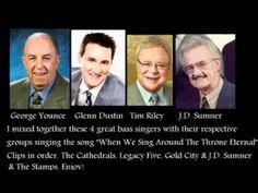 George Younce, Glenn Dustin, Tim Riley, JD Sumner sing When we sng aroun...