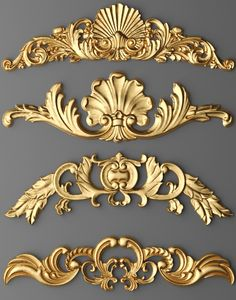 Discover thousands of images about cartouches set 7 model max obj fbx stl mtl 12 3d Interior Design, Interior Design Courses, Interior Design Software, Painted Furniture, Furniture Design, Baroque Furniture, Baroque Decor, Baroque Design, Luxury Furniture