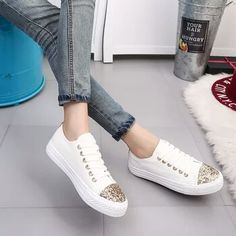 a795bc58c800 Available Sizes Heel Height  Flat Boot Shaft  Ankle Color  White Toe  Round  Shoe Vamp  Cloth Closure  Lace-up