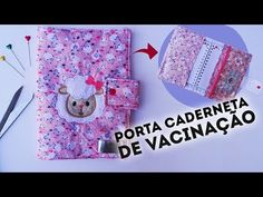 PORTA CADERNETA DE VACINAÇÃO - PASSO A PASSO - YouTube Needle Lace, Patches, Crochet Patterns, Notebook, Quilts, Crafts, Youtube, Washington, Manualidades
