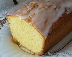 """Kulinarne Szaleństwa Margarytki: Pieczenie z """"Kasią"""": Ciasto mocno cytrynowe."""