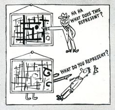 Ad Reinhardt's six-page series How to Look at Art
