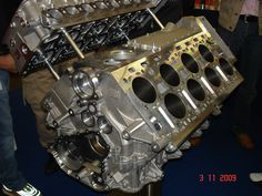 Bugatti Veyeron W16 engine block.