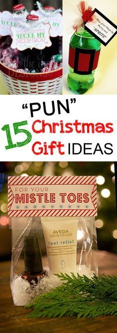Who doesn't love a good pun? These easy Christmas ideas for your friends and neighbors will be sure to crack a smile!