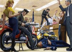 Mort Künstler - Bonnie and Clyde revisited