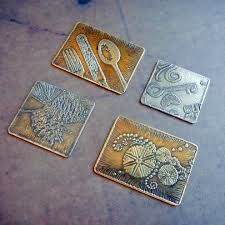 etching metal jewelry - Google Search
