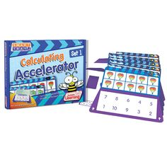 Junior Learning Smart Tray Calculating Accelerator Set 1